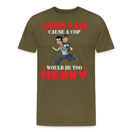 Cops are heavy - Männer Premium T-Shirt