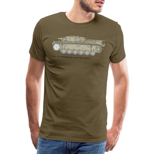 Stug III Ausf D. - Männer Premium T-Shirt