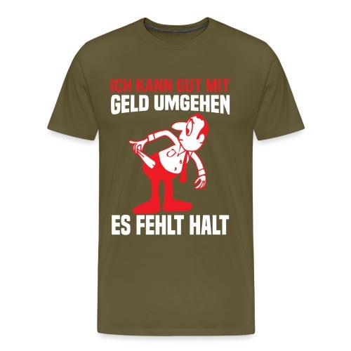es fehlt halt - Männer Premium T-Shirt
