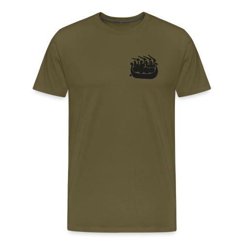 291-logo - Premium-T-shirt herr