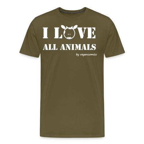 iloveall - Männer Premium T-Shirt