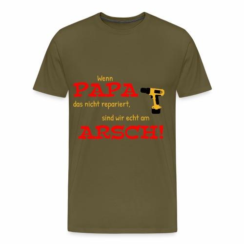 Papa macht das schon - Männer Premium T-Shirt