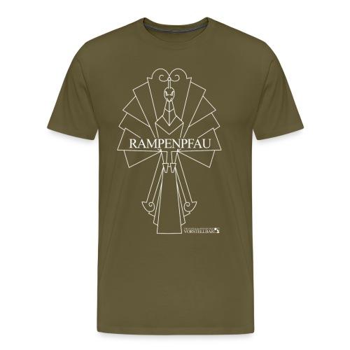 Vorstellbar Rampenpfau Logoshirt - Männer Premium T-Shirt