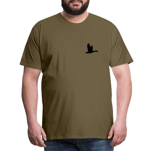 T-shirt canard personnalisé avec votre texte - T-shirt Premium Homme