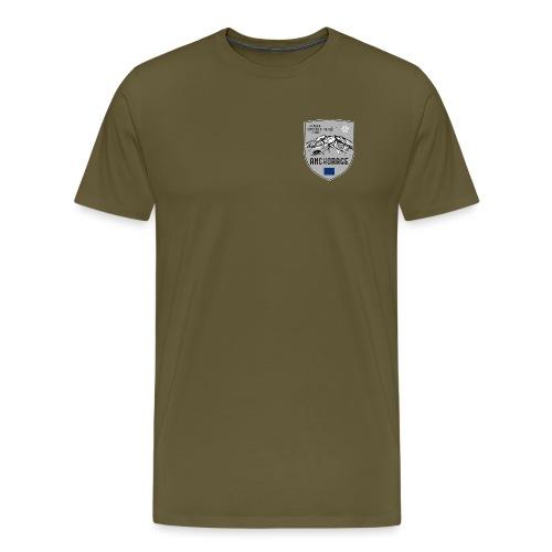 Alaska USA coat of arms - Men's Premium T-Shirt