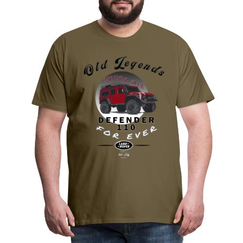 Old Legends - Defender - Camiseta premium hombre