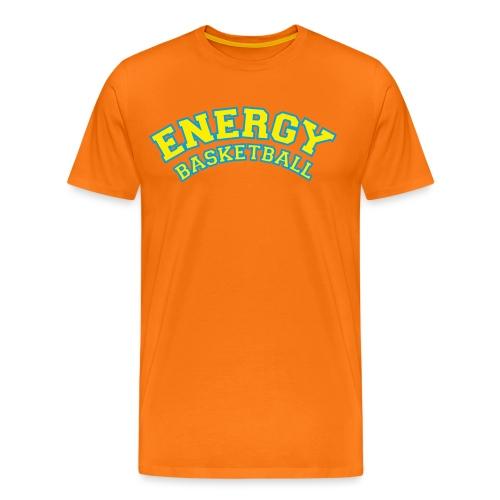 eco logo energy basketball giallo - Maglietta Premium da uomo