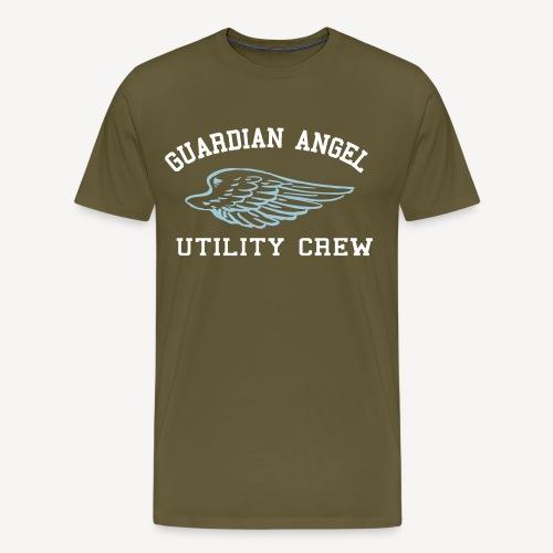 GUARDIAN ANGEL CREW - Men's Premium T-Shirt
