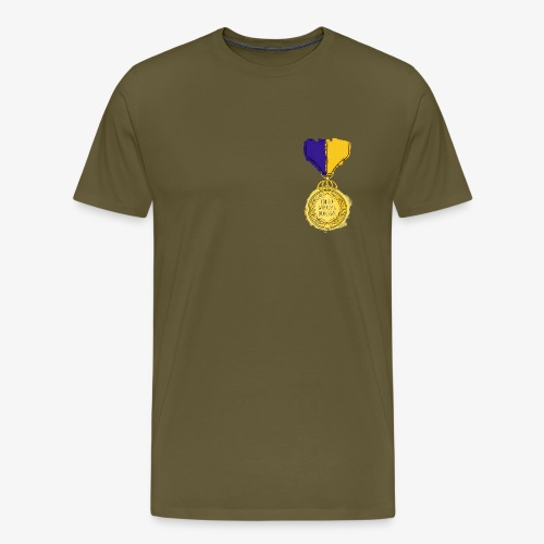 Medal for bruises By TheRawburt - Premium-T-shirt herr