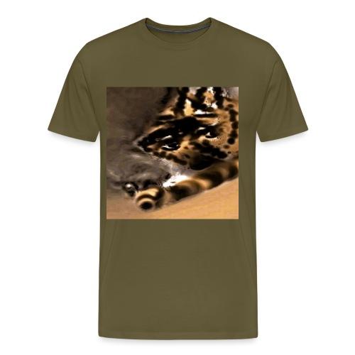 fauve dans la brume - T-shirt Premium Homme