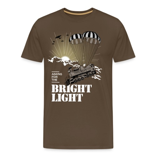 Bright Light - Herre premium T-shirt