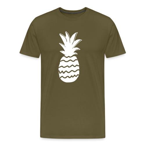 ananas nj white - T-shirt Premium Homme
