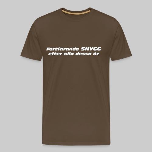 Fortfarande Snygg - Premium-T-shirt herr