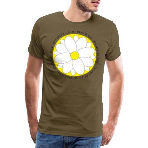 Flower World - Männer Premium T-Shirt