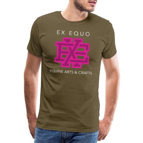 EX EQUO Arts and Crafts - Mannen Premium T-shirt