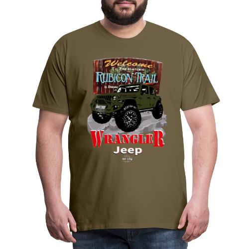 WRANGLER Rubicon Trail - Camiseta premium hombre