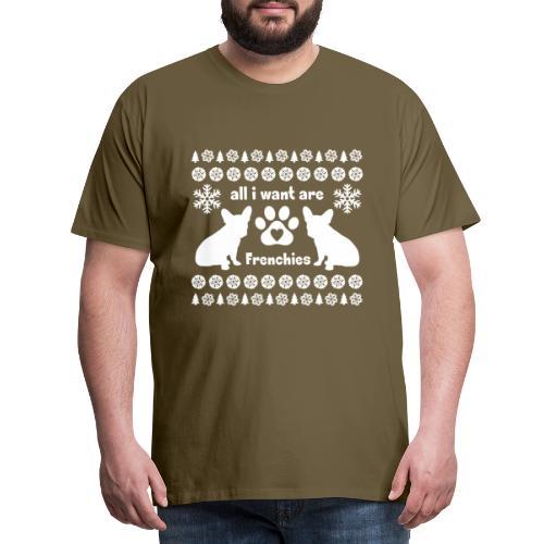 Want Frenchies - Mannen Premium T-shirt