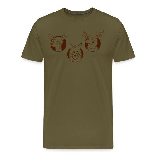 Weidmannsheil - Männer Premium T-Shirt