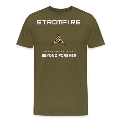 Stromfire_orange_full - Männer Premium T-Shirt