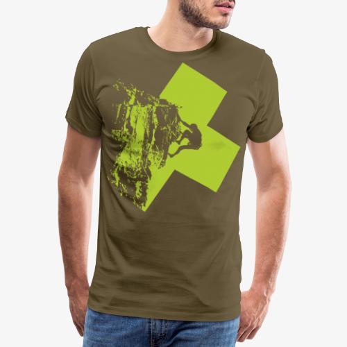 Climbing - Men's Premium T-Shirt