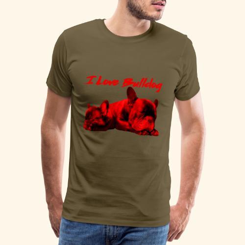 French Bulldog,Französische Bulldogge,Bulldog,hund - Männer Premium T-Shirt
