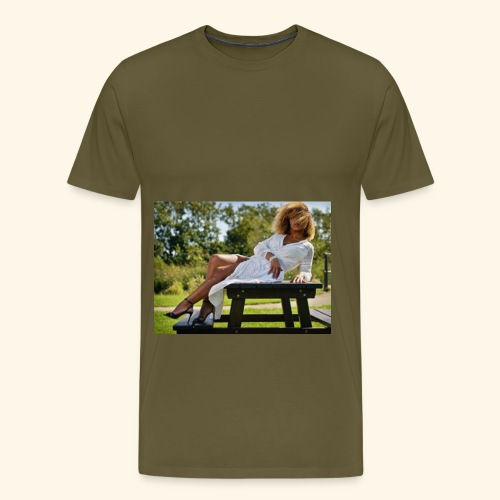 een foto van me mooie foto in Den Haag - Mannen Premium T-shirt