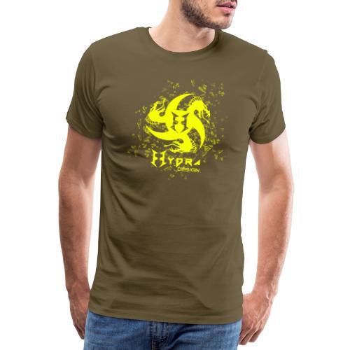 Hydra Design - logo glass explosion - Maglietta Premium da uomo