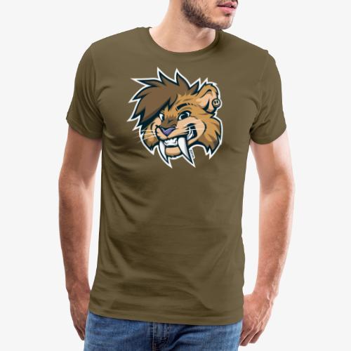 Smile-odon! Orange Transparent - Männer Premium T-Shirt