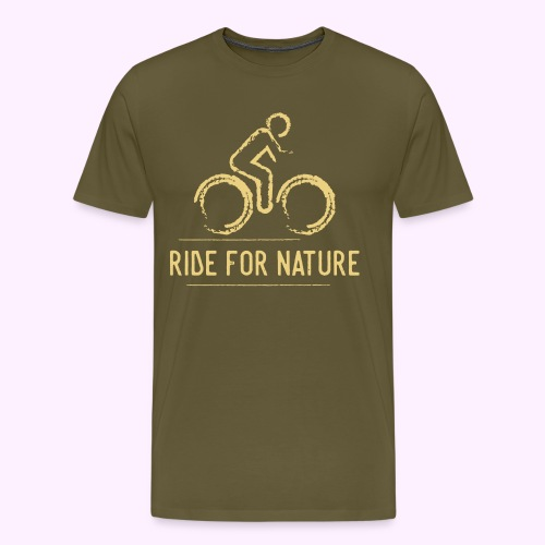 Ride For Nature - Männer Premium T-Shirt