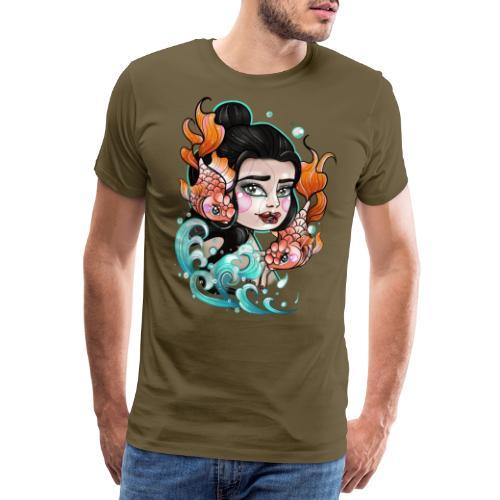Lady fish - T-shirt Premium Homme
