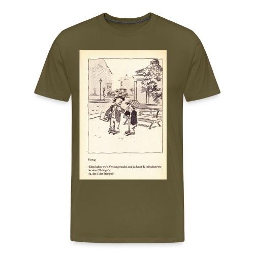 Simmel Steppke jpg - Männer Premium T-Shirt
