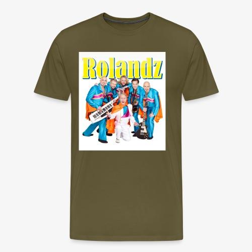 tshirt logga band - Premium-T-shirt herr