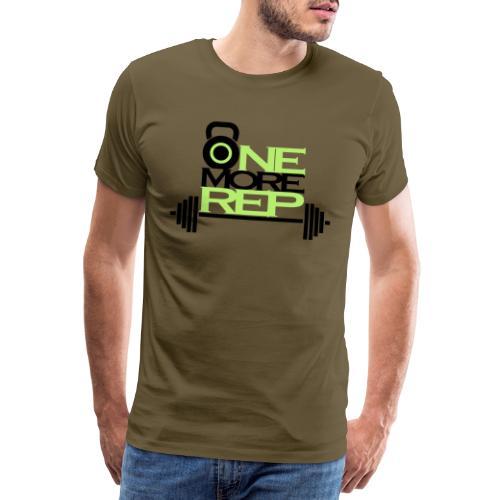 Onemorerep - Maglietta Premium da uomo