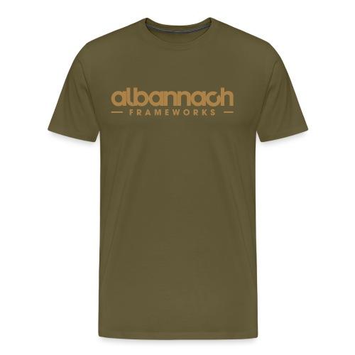 Albannach FRAMEWORKS - Ghillie - Men's Premium T-Shirt
