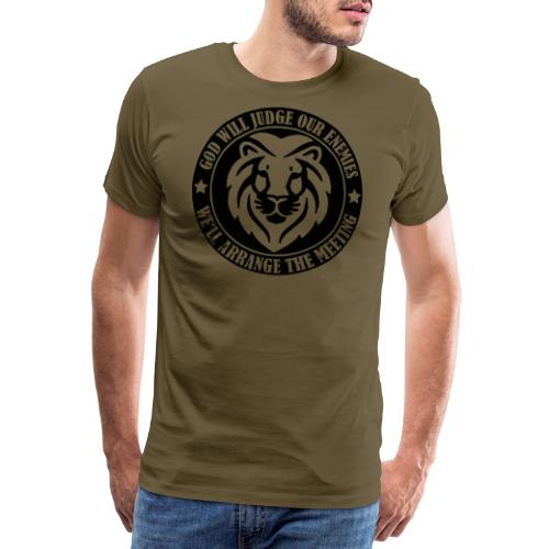 LION OF THE NORTH - Premium-T-shirt herr