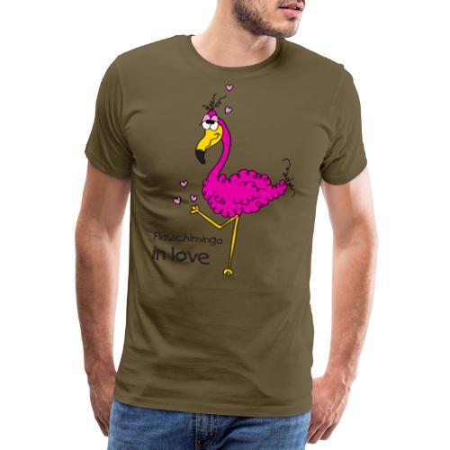Flauschimingo in love - Männer Premium T-Shirt