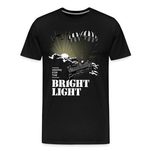 brightlight print png - Herre premium T-shirt