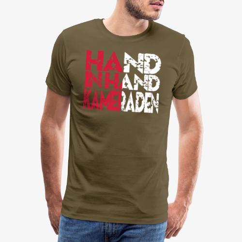 Hand In Hand - Mannen Premium T-shirt
