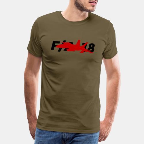 F/A-18 Super Hornet   F 18   F18   F/A18   Hornet - Men's Premium T-Shirt