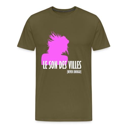 Le Son Des Villes - Women - T-shirt Premium Homme
