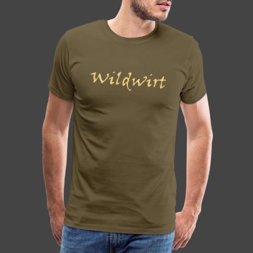 Wildwirt-Shirt für Jäger - Männer Premium T-Shirt