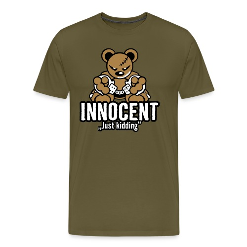 Teddy »Innocent« - Color - Männer Premium T-Shirt