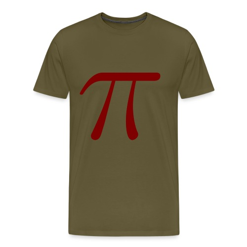 pi red t-shirt - Men's Premium T-Shirt