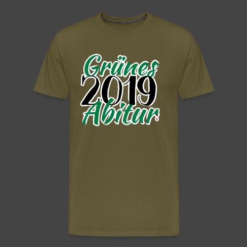 Grünes Abitur 2019 - Waidmannsheil von Jägershirts - Männer Premium T-Shirt