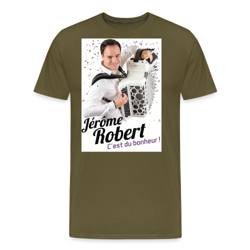 TSHIRT JEROME ROBERT BLANC jpg - T-shirt Premium Homme