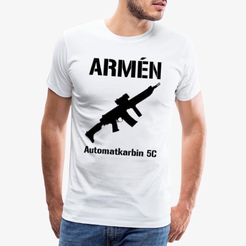 ARMÈN - Ak 5C - Premium-T-shirt herr