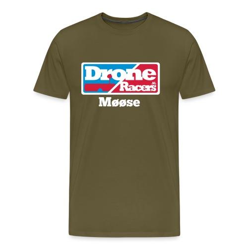 droneracers_logoose - Mannen Premium T-shirt