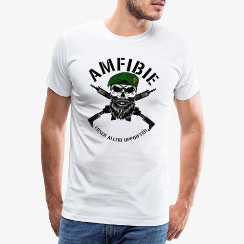 AMFIBIE - Korslagda Ak 5C - Premium-T-shirt herr