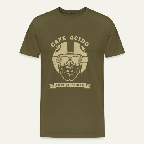 Casco cafe racer - Camiseta premium hombre
