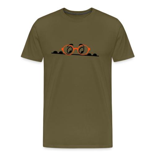 Augen, comic - Männer Premium T-Shirt